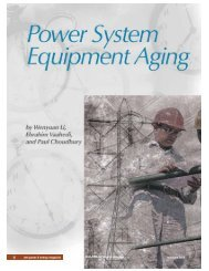 Power System Equipment Aging - BC Hydro - Transmission