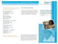 Centros de Recursos y Servicios para el Cuidado de Ancianos