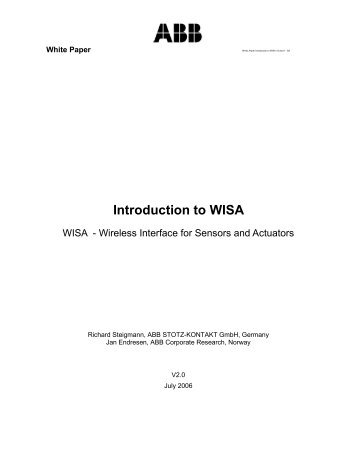 Introduction to WISA - Millennial Net