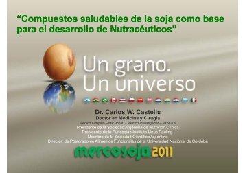"""""""Compuestos saludables de la soja como base ... - Mercosoja 2011"""