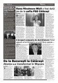 Oana Niculescu Mizil a fost datã jos de la ºefia PSD Cãlãraºi - Obiectiv - Page 6