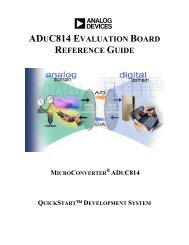 aduc814 evaluation board reference guide microconverter