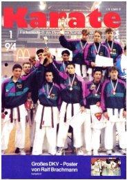 DKV-Magazin Nr. 1 - Chronik des deutschen Karateverbandes