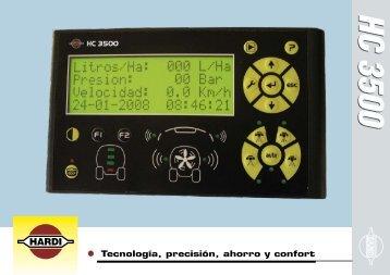 Tecnología, precisión, ahorro y confort