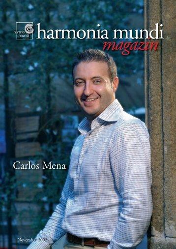 Der Countertenor Carlos Mena - Klassik.com