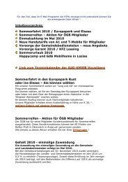 aktuelle Information April 2010 - GdG-KMSfB Vorarlberg