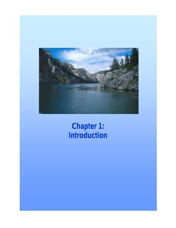 Chapter 1: Introduction - Montana Office of Tourism