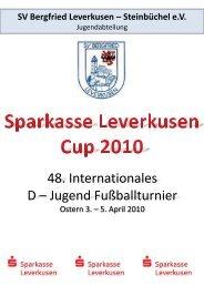 48. Internationales D – Jugend Fußballturnier - SV Bergfried ...