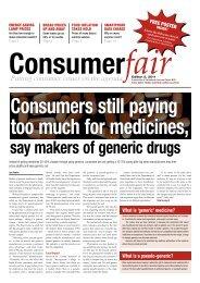 Edition 5, September - October 2011 - National Consumer Forum