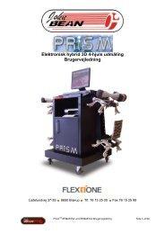 John Bean PRISM hybrid 3D 4-hjuls udmåling - Flex1one
