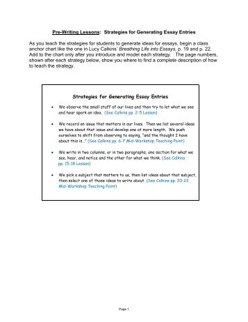 writing essays examples pdf