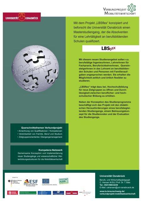 Technische Universität Braunschweig (Koordinator) - Offene ...