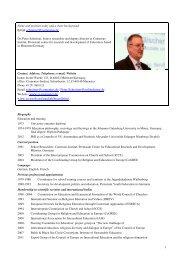 Dr Theol. Peter Schreiner