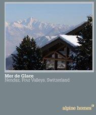 Mer de Glace Nendaz, Four Valleys, Switzerland - Ski chalets for sale