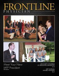 Fall - Indiana Academy of Family Physicians