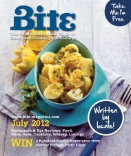 Download July 2012 - Bite Magazine