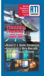 technical training technical training - Applied Technology Institute