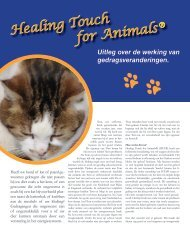 Healing Touch for Animals®