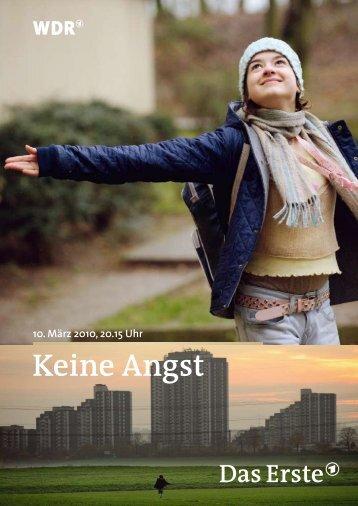 Ich kenne die Welt, in der ›Keine Angst‹ spielt, von innen - WDR.de