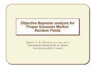 Bayesian Inference for Proper Gaussian Markov Random ... - IMAGe