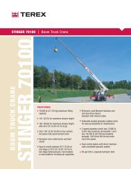 Load Charts - Consolidated Crane and Rigging