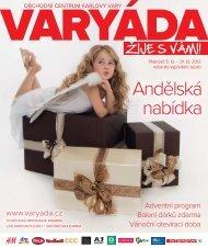 Andělská nabídka - Obchodní centrum Varyáda (Karlovy Vary)