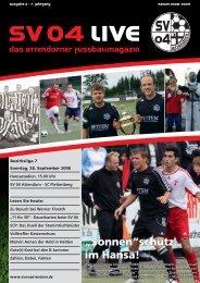 Ausgabe 3 - 28.09.2008 (SC Plettenberg) - SV 04 Attendorn e.V.