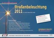 10. ETP-Jubiläumskongress - Wolter Hoppenberg