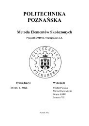 Projekt MES- Michał Pieszak, Michał Radowiecki