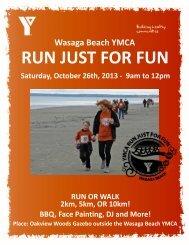 Registration Form - YMCA of Simcoe/Muskoka
