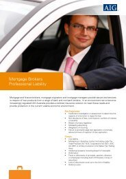 Not-for-Profit Risk ProtectorSM - Marketing Index File - AIG com