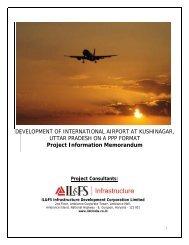 Project Information Memorandum - Uttar Pradesh Tourism