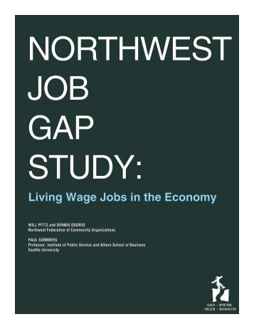 Living Wage Jobs in the Economy - Alliance for a Just Society