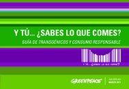 guía de transgénicos y consumo responsable. - Sin Maíz no hay País