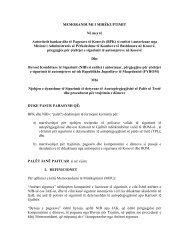 Memorandum i Mirëkuptimit në mes të BPK-së dhe Byrosë ...
