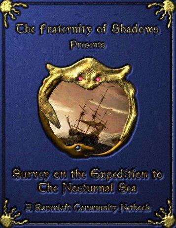 Nocturnal Sea Gazetteer.book - Vaults of Pandius