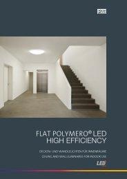 Flat Polymero LED High Efficiency - RZB Leuchten