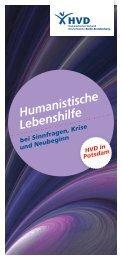 Flyer Humanistische Lebenshilfe Potsdam - Humanistischer ...