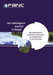 Het radiologisch toezicht in België - Federaal Agentschap voor ...