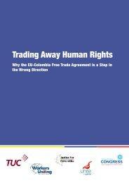 Trading Away Human Rights - Irish Congress of Trade Unions