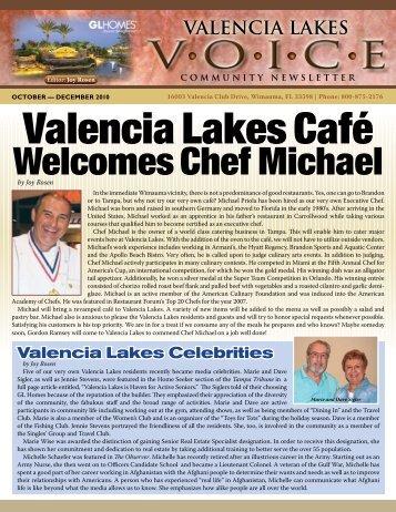 Valencia Lakes Café - GL Homes