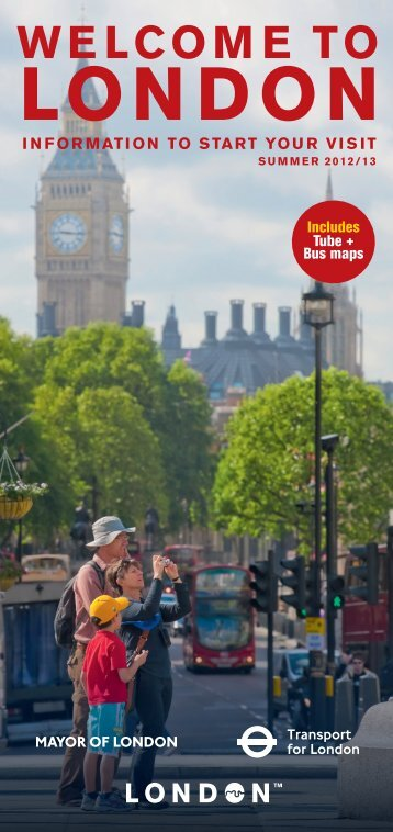Welcome to London - Visitor guide - Transport for London