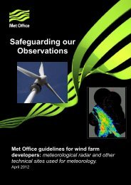 Safeguarding our Observations_Met Office guidelines for wind farm ...
