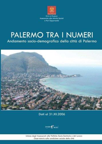 PALERMO TRA I NUMERI - Osservatoriopalermo.it