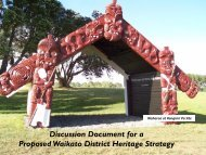 A Discussion Document - Waikato District Council