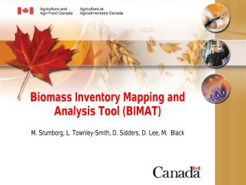Biomass Inventory Mapping and Analysis Tool ... - APEC Biofuels
