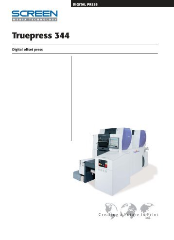 Truepress 344 - Mueller Graphic Supply, Inc.