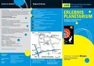 """Lernen - Wissen Das Planetarium """"Stellarium Erkrath"""" als Lern"""