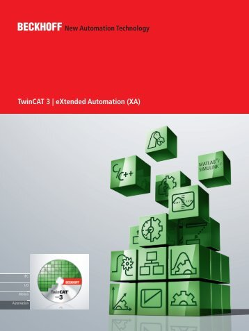 TwinCAT 3 | eXtended Automation (XA) - Beckhoff
