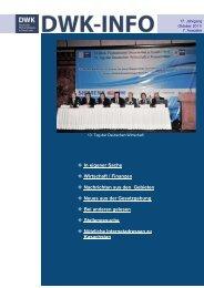 DWK-Info Kasachstan 2011-10 - AHK Zentralasien - AHKs